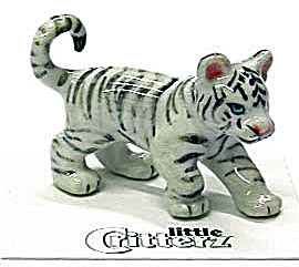 Little Critterz Lc428 White Tiger Cub