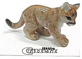 Little Critterz Lc136 Cougar Cub Named Renegade