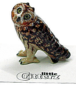 Little Critterz Lc566 Short Eared Owl