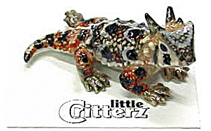 Little Critterz Lc314 Horned Toad