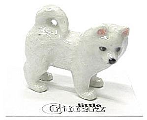 little Critterz LC813 American Eskimo Puppy (Image1)