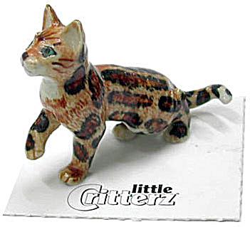 little Critterz LC910 Marble Bengal Kitten (Image1)
