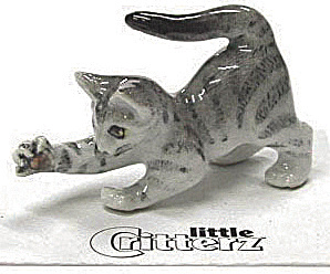 Little Critterz Lc911 Grey Tiger Kitten
