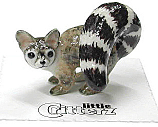 Little Critterz Lc147 Ringtail Cat