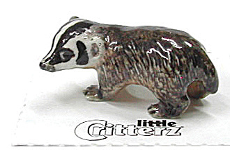 Little Critterz Lc144 Baby Badger