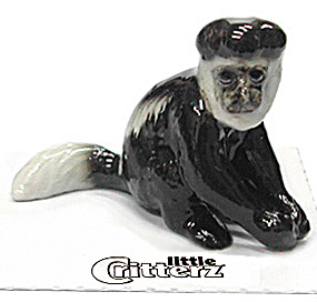 Little Critterz Lc434 Colobus Monkey