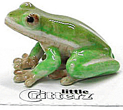 Little Critterz Lc316 Green Tree Frog