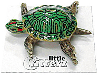 Little Critterz Lc319 Red Earred Slider Turtle