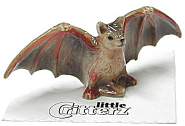 Little Critterz Lc145 Brown Bat