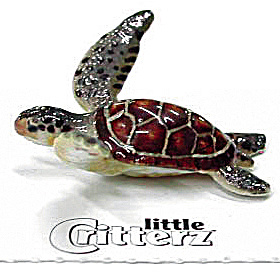 Little Critterz Lc219 Green Sea Turtle