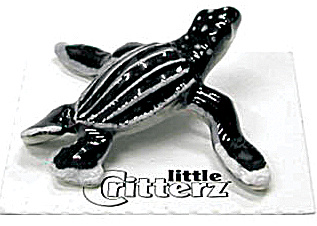 Little Critterz Lc226 Leatherback Sea Turtle