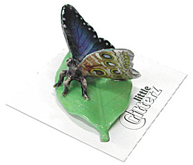 Little Critterz Lc521 Blue Morpho Butterfly