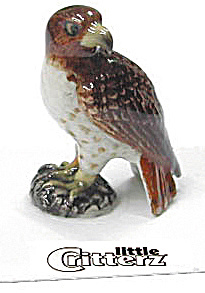 Little Critterz Lc570 Red Tail Hawk
