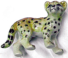 Retired Northern Rose Super Mini Cheetah Baby M029