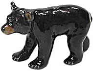 Northern Rose Super Mini Black Bear Cub M020