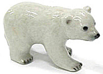 Northern Rose Super Mini Polar Bear Cub M022