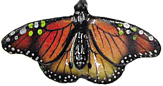Northern Rose Super Mini Monarch Butterfly M005