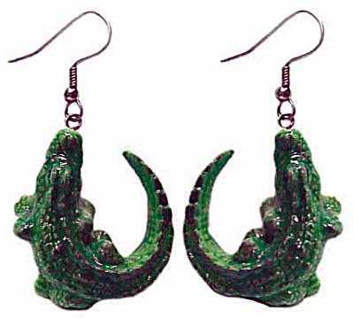 Northern Rose Alligator Earrings (Image1)