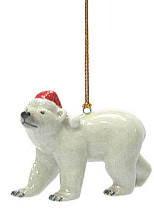 R310 Polar Bear Christmas Ornament