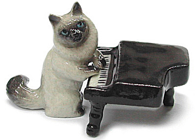 Mb029 Cat With Piano