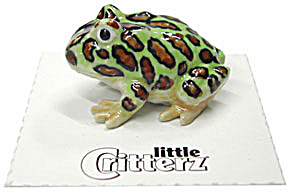 Little Critterz Lc329 Tree Frog Named Pacman