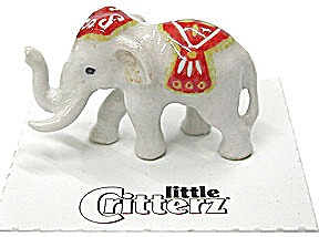 Little Critterz Lc625 White Elephant