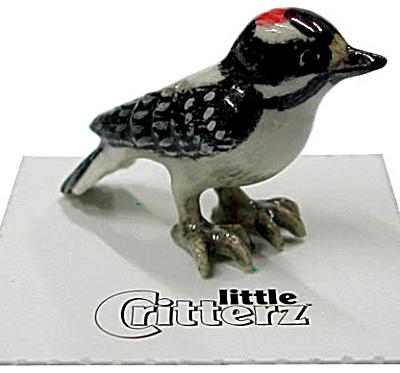 little Critterz LC574 Downey Woodpecker (Image1)