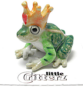 Little Critterz Lc335 Frog Prince