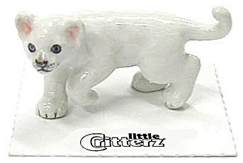 little Critterz LC441 White Lion Cub (Image1)