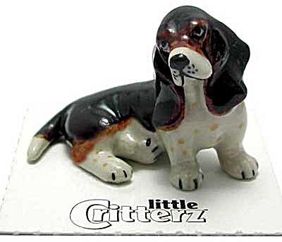 little Critterz LC817 Basset Hound (Image1)