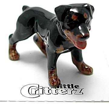 little Critterz LC818 Rottweiler (Image1)