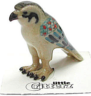 little Critterz LC612 Egyptian Falcon named Horus (Image1)