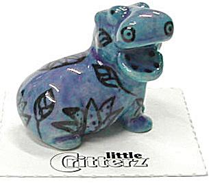 little Critterz LC613 Egyptian Art Hippo (Image1)