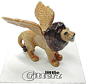 little Critterz LC622 Winged Lion named Griffin (Image1)