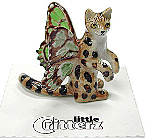 little Critterz LC626 Pixie Kitty named Spring (Image1)