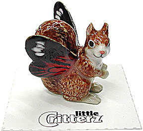 little Critterz LC628 Pixie Squirrel named Fall (Image1)