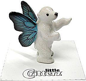 little Critterz LC629 Pixie Polar Bear named Winter (Image1)