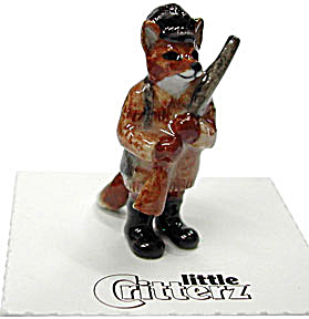 little Critterz LC634 American History Series Clark Fox (Image1)