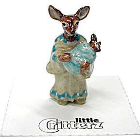 little Critterz LC635 American History Sacagawea Deer (Image1)