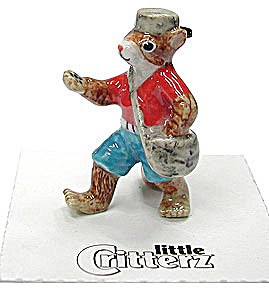 Little Critterz Lc636 Johnny Appleseed Chipmunk