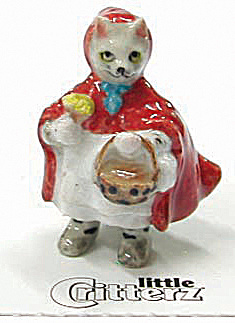 little Critterz LC645 Little Kitty Red Riding Hood (Image1)