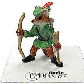 little Critterz LC646 Robin Hood Fox (Image1)