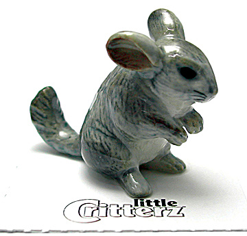 Little Critterz Lc937 Chinchilla Named Andes