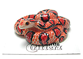Little Critterz Lc952 Corn Snake Named Checkers