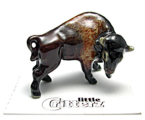 Little Critterz Lc967 American Bison
