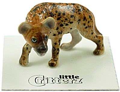 Little Critterz Lc822 Spotted Hyena