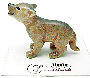 little Critterz LC945 Howling Wolf Cub (Image1)