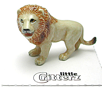 Little Critterz Lc970 Lion Named Leo