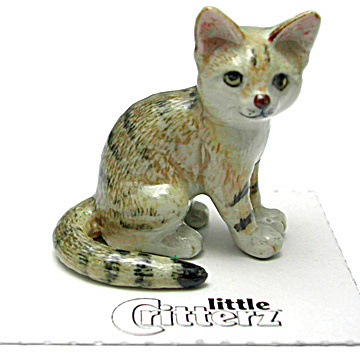 little Critterz LC976 Sand Cat (Image1)