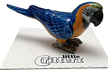 Little Critterz Lc981 Blue And Gold Macaw